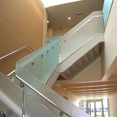 No Matter What Your Glass Stair Railing Or Glass Hand Railing Interest Or  Needs Might Be, R U0026 K Glass Are The Experts You Will Want To Work With.